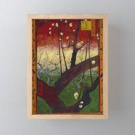 Vincent van Gogh - Flowering Plum Orchard, after Hiroshige (1887) Framed Mini Art Print