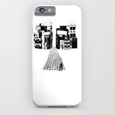 Dead Sound City (Black on White) iPhone 6s Slim Case