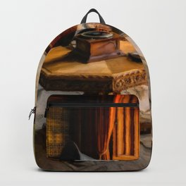 Victorian Music Room Art Backpack