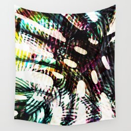 monstera cool Wall Tapestry