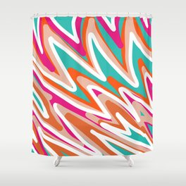 Color Vibes Shower Curtain