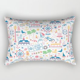 Newport Harbor Doodles Rectangular Pillow