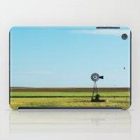 kansas iPad Cases featuring Kansas Skyline by Marie Apel