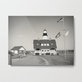 Maine series - lighthouse Metal Print