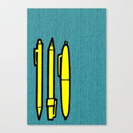Doodlers Win Canvas Print
