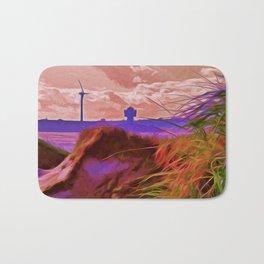Sand Dunes (Digital Art) Bath Mat