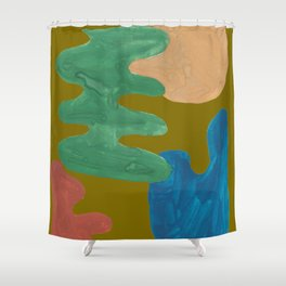 13    | Imperfection | 190325 Abstract Shapes Shower Curtain