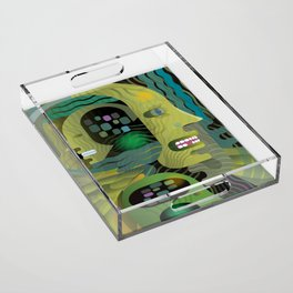 Father and Son Acrylic Tray
