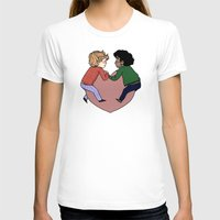 enjolras T-shirts featuring Enjolras and Grantaire in love by Antisepticbandaid