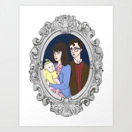 The Baudelaire Orphans Art Print