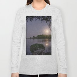 Niles Pond Moon Rise Long Sleeve T-shirt