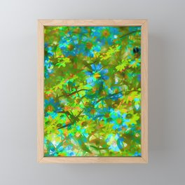 Abstract Garden Framed Mini Art Print