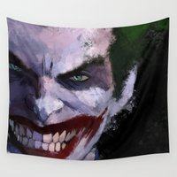 joker Wall Tapestries featuring Joker by Scofield Designs