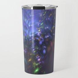 Blue Splash Travel Mug