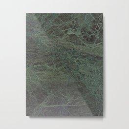 Green Marble II Metal Print
