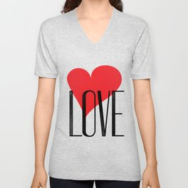 My Love My Valentine Unisex V-Neck