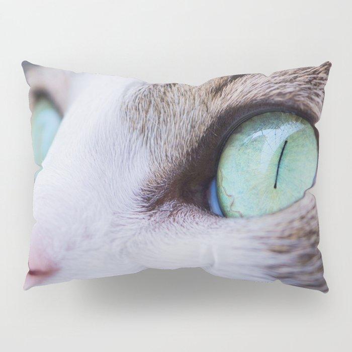 Cat woman Pillow Sham