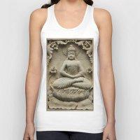 buddha Tank Tops featuring Buddha by Falko Follert Art-FF77