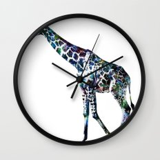 Giraffe 2 Wall Clock