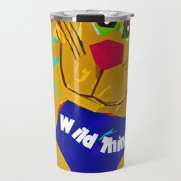 Funky Cat Wild thing Travel Mug