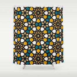 Persian Mosaic – Marigold Palette Shower Curtain