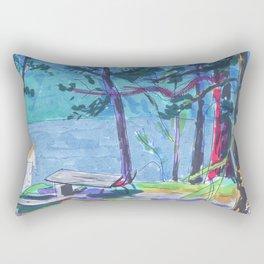 summer camp Rectangular Pillow