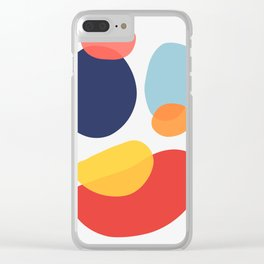 Abstract art XIV Clear iPhone Case
