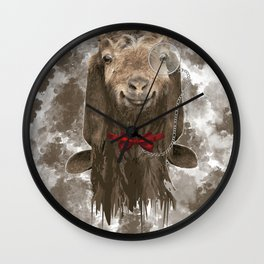 The GOAT Wall Clock