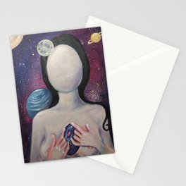 The Universe Inside You Stationery Cards