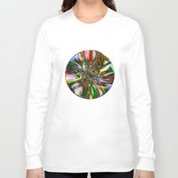 decorative Long Sleeve T-shirts featuring Decorative Glass by Klara Acel