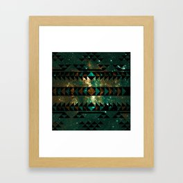 Gatsby Dust Tribal Framed Art Print