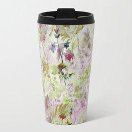 des fleurs et des mots Travel Mug