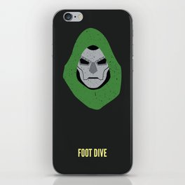 Dr. Doom - Foot Dive iPhone Skin