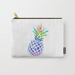 Rainbow Pineapple Carry-All Pouch