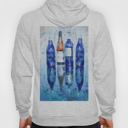 """Wine Reflection"" by Lena Owens Hoody"