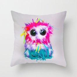 Ferris Feathersby 2.0 Throw Pillow