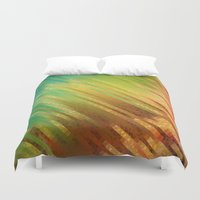 spring Duvet Covers featuring Spring  by SensualPatterns