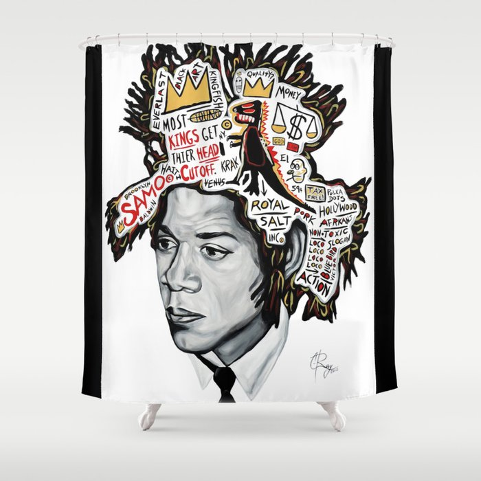 Legends Inspire Shower Curtain By Cray