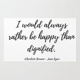 Jane Eyre - Happy Rug