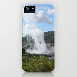 Geyser iPhone Case