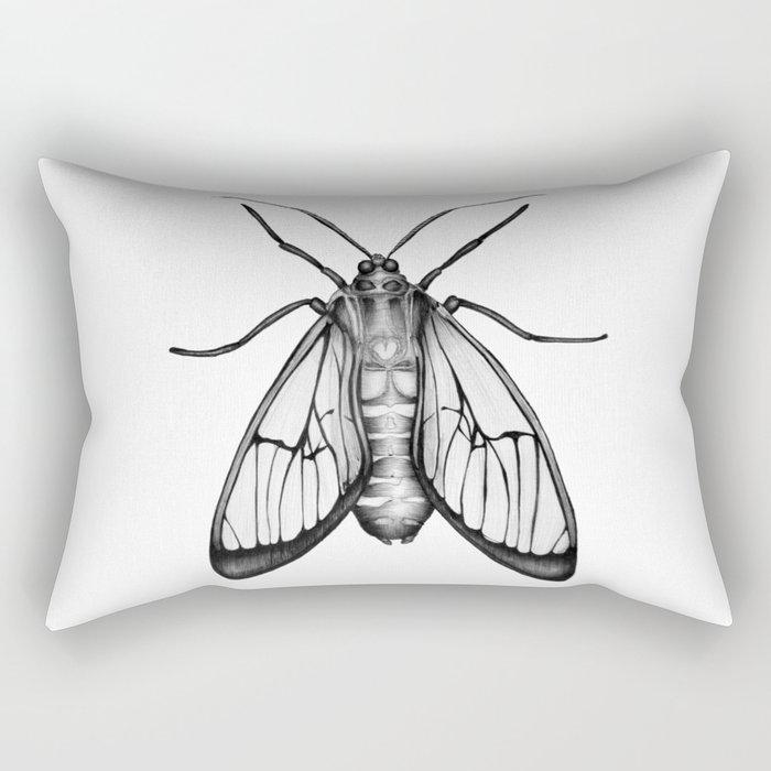 Wasp Moth Rectangular Pillow