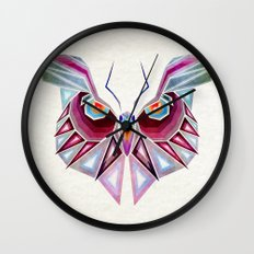 owl or butterfly? Wall Clock