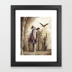 kuzgun Framed Art Print