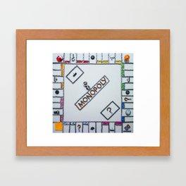 092: Monopoly - 100 Hoopties Framed Art Print