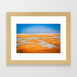 Colorful Beach Framed Art Print
