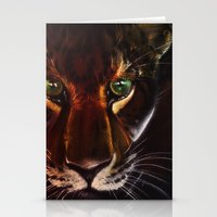 jaguar Stationery Cards featuring Jaguar by mejony