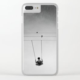 Pain is Never Gone Clear iPhone Case
