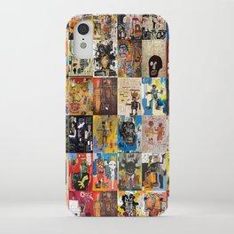 Basquiat Montage iPhone Case