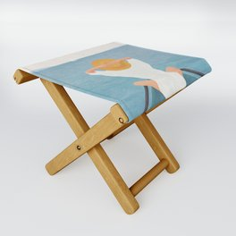 Summer Vacation I Folding Stool