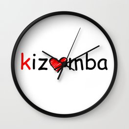 Kizomba Wall Clock